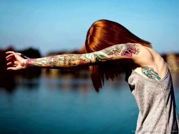 Inspiring Colorful Tattoos For Girls That Will Boost Your Creativity