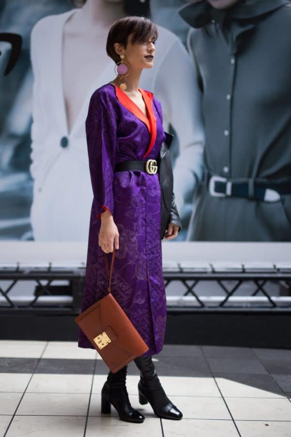 Stylish Ways To Wear The Ultra Violet Color Of The Year 2018 By Pantone