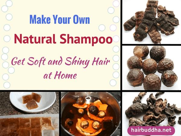 Natural Homemade Hair Shampoos For Shining Hair