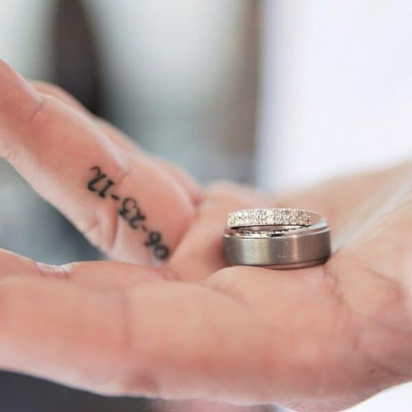 Unique Wedding Ring Tattoos That Will Make You Stand From the Rest Of The Crowd