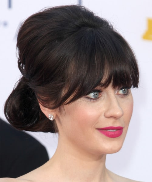 How To Style Up Do Hairstyles With Bangs In Some Splendid Ways