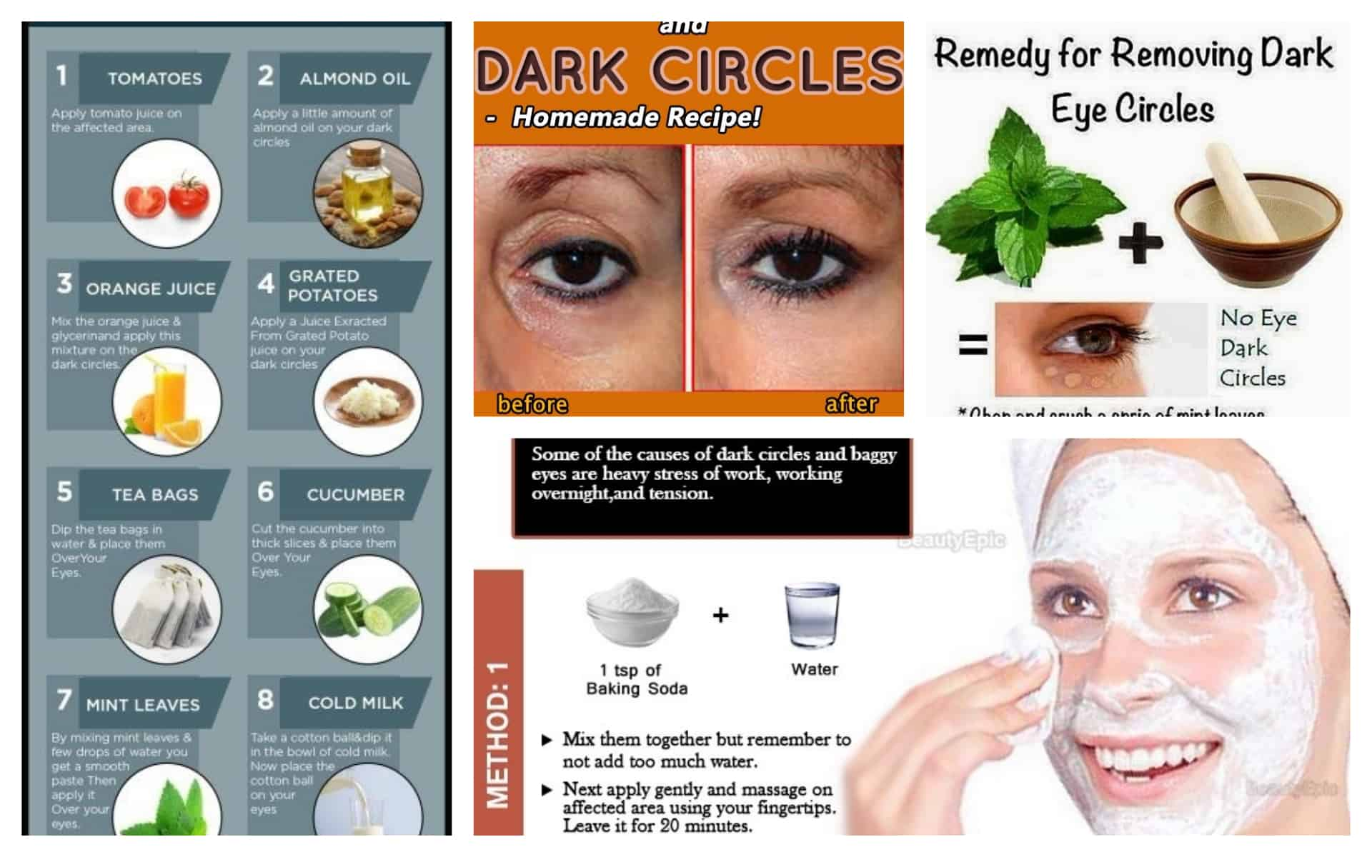 Natural Remedies That Will Help You Remove The Dark ...