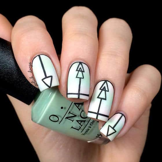 Dramatic Geometric Manicures That Will Add A Dose Of Sophistication To Your Look