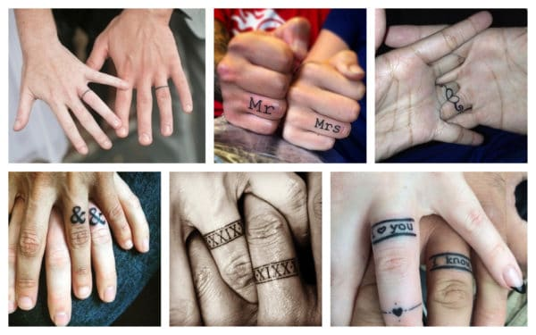 Unique Wedding Ring Tattoos That Will Make You Stand From The Rest