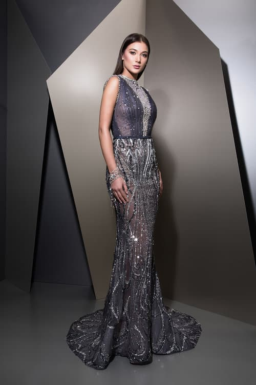 Breathtaking Evening Dresses | Ziad Nakad Fall Winter 2018