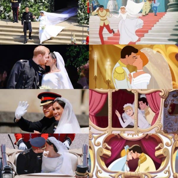 Crazy Resemblance Between The Royal Wedding And Disney Princess Fairy Tale