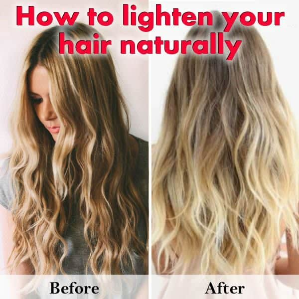 Natural And Easy Ways To Lighten Your Hair At Home