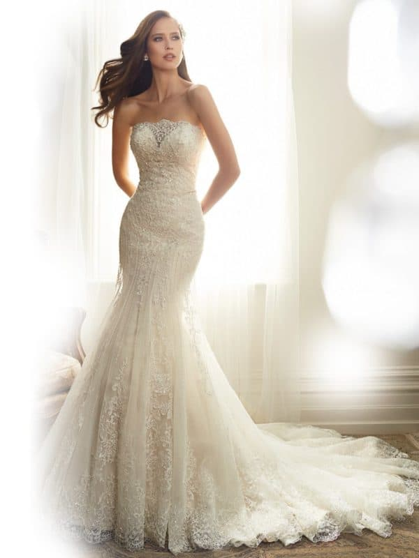 Stunning Mermaid Wedding Dresses That Will Hug Your Curves