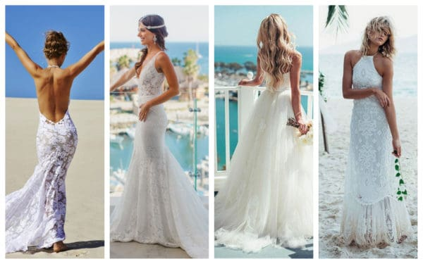 Dreamy Beach Wedding Gowns That Will Make You Feel Like A Goddess