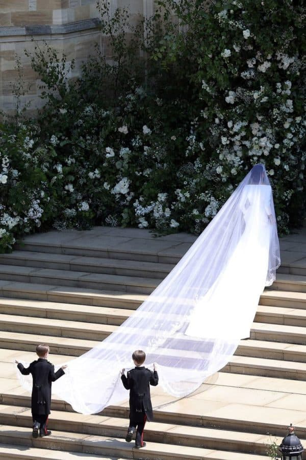 Interesting Details About Meghan Markles Wedding Dress