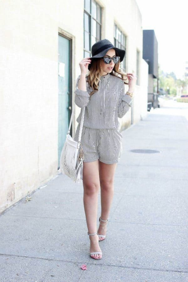 15 Cute Ways To Wear Rompers During The Hottest Days Of Summer