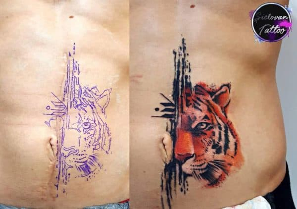 Scar Cover Up Tattoos That Will Amaze You