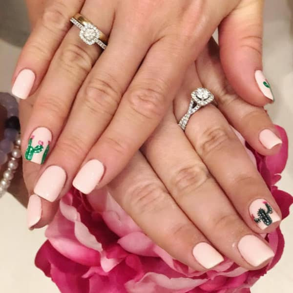 The Coolest Cactus Manicure Ideas That Have Taken Over The Internet
