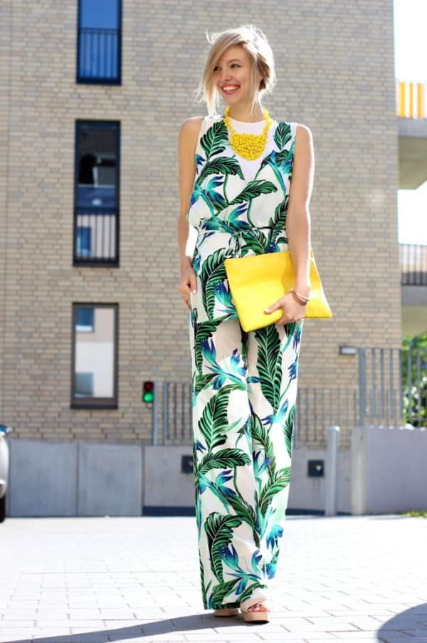 Stylish Tropical Print Outfits That Will Impress You