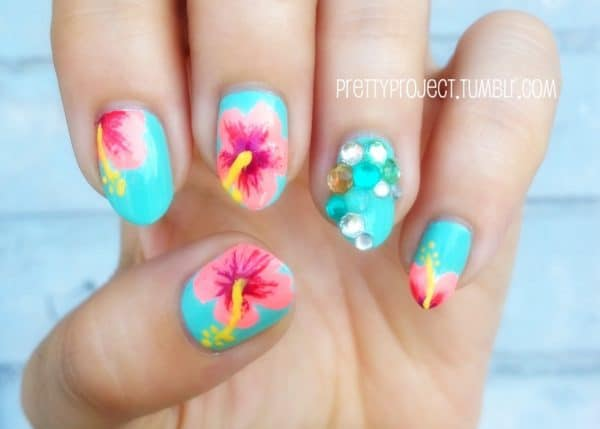 Tropical Nails That Will Make You Want Summer To Last Forever