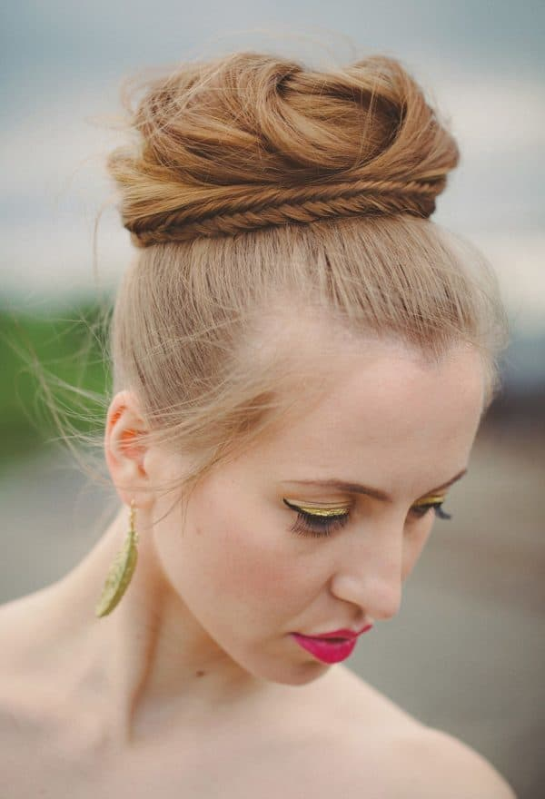 Easy Updo Hairstyles That Are Perfect For The Hot Summer Days