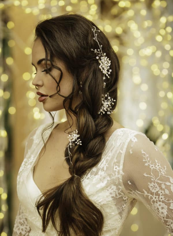 Delicate Hair Vines For The Refined And Elegant Bride