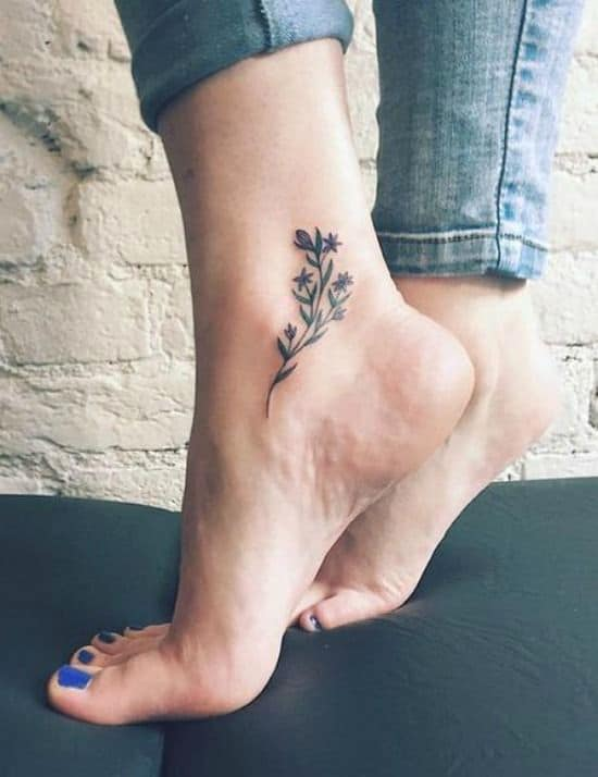 Trendy Ankle Tattoos That You Would Love To Get