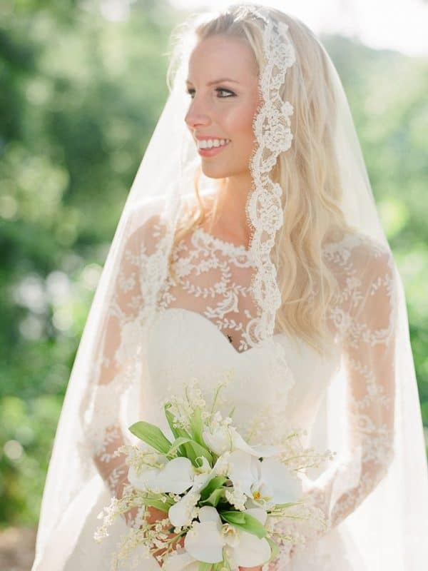 Sweet Wedding Veil Hairstyle Ideas That Will Make You Look Fabulous