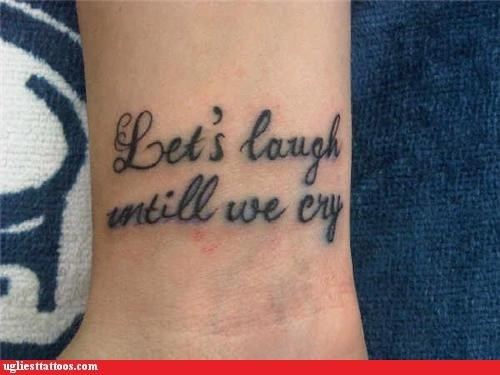 Absolutely Hilarious Misspelled Tattoos That Will Make You Laugh