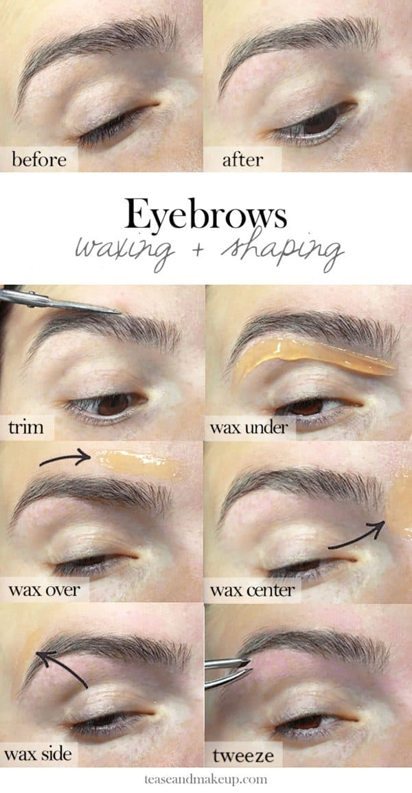 Simple Eyebrow Tips That Will Help You Get The Perfect Eyebrow Shape