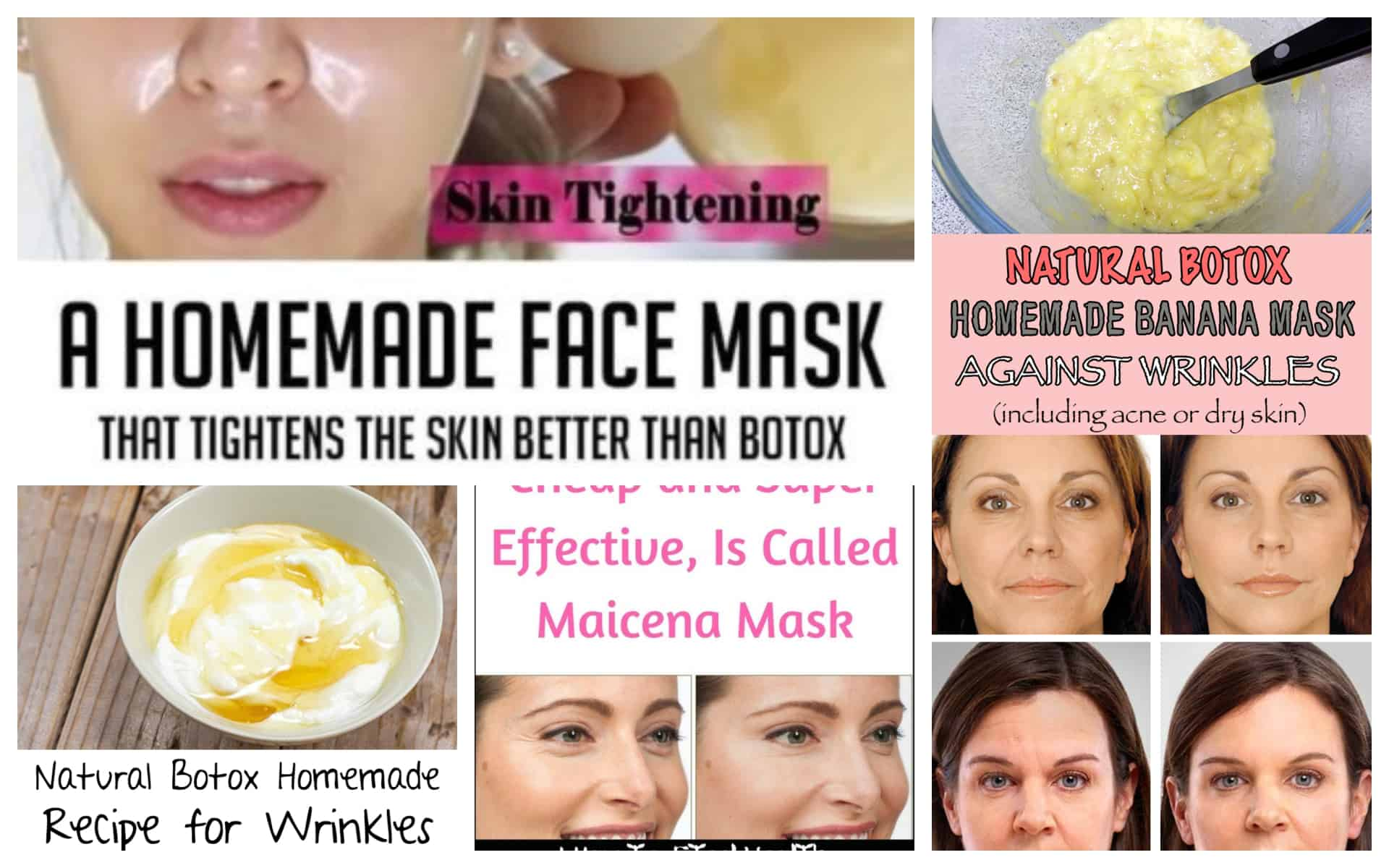 Homemade Botox Recipes That Will Make You Look Younger