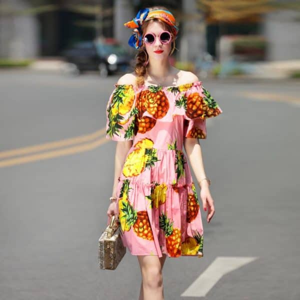 Fruit Print Street Style Outfits That Will Add Freshness To Your Look