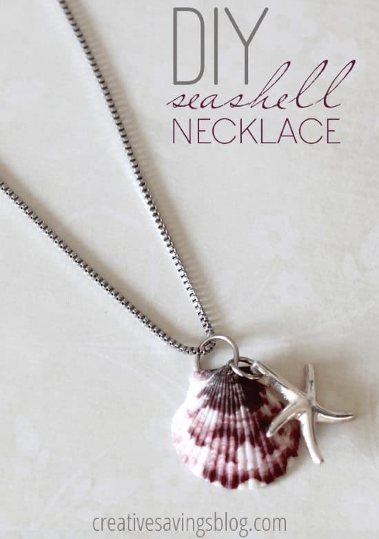 Beach Inspired DIY Seashell Jewelry That Will Preserve Your Summer Memories