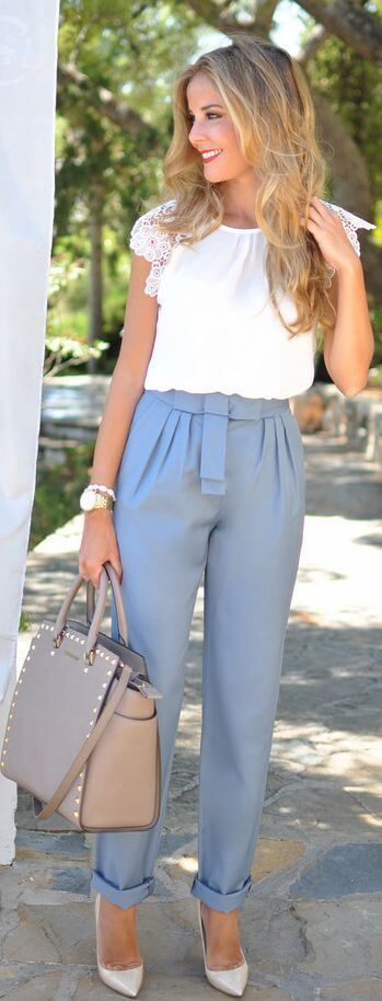 Stylish Summer Work Outfits That Will Let Everybody Speachless