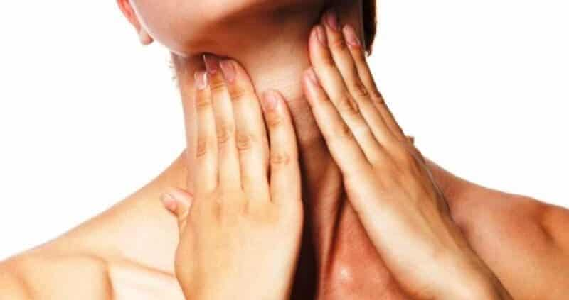 What causes turkey neck