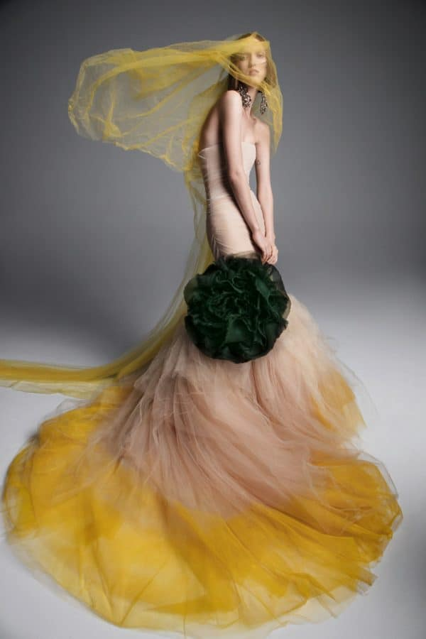 The New Colorful Spring 2019 Bridal Collection Of Vera Wang
