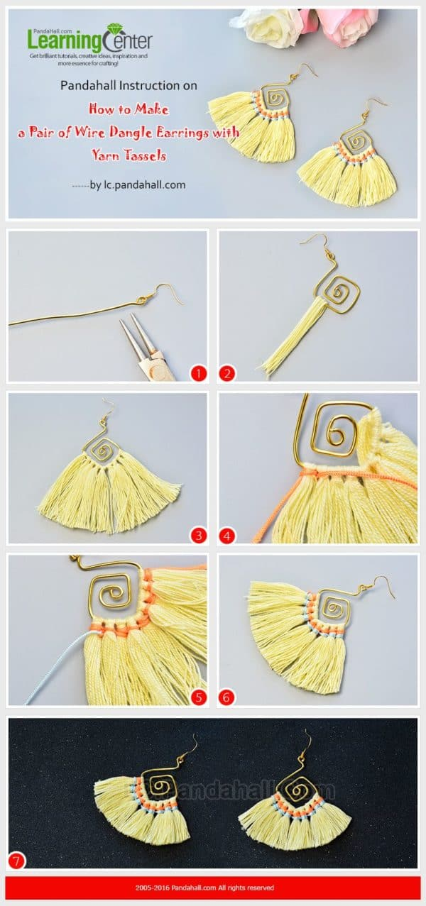 Amazing, Easy To Do DIY Tassel Earrings Tutorials You Must Try Now