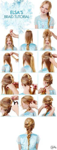 Die einfachsten DIY Disney Prinzessinnen inspiriert Frisuren in weniger als 10 Minuten zu machen