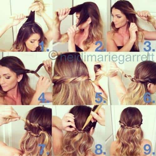 The Easiest DIY Step By Step Tutorials To A Perfectly Curly Hair With Voluminous Waves
