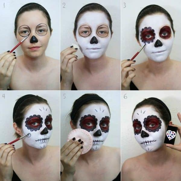 Easy To Do Scary Halloween Make Up Ideas For An Unforgettable Halloween Experience
