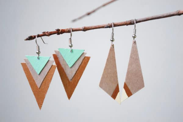 DIY  Projects To Create Your Own Wooden Jewelry Collection.