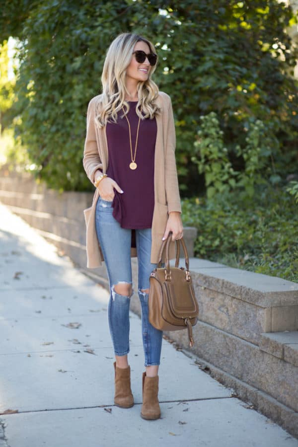 The Perfect Scheme To Combine Colors And Create An Eye Catching Fall Outfit