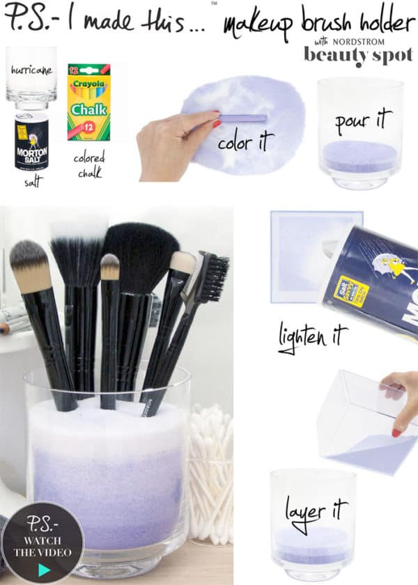 The Easiest DIY Make Up Organizer Tutorials That Will Save Your, And Your Make Up Tools Life