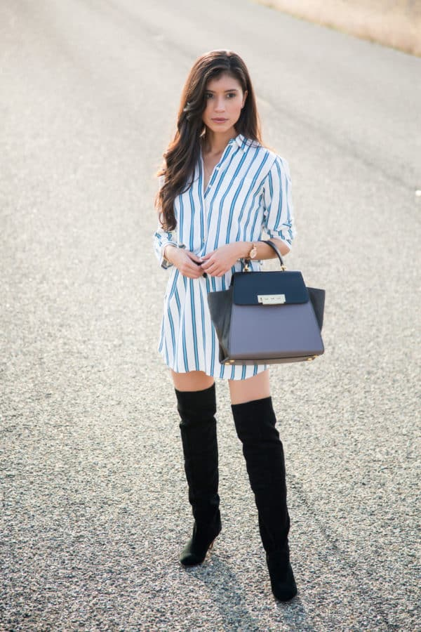 All You Need To Know About Styling A Shirt Dress