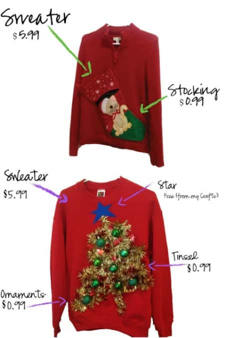 Inspiring DIY Ugly Christmas Sweater Ideas To Try With Your Friends