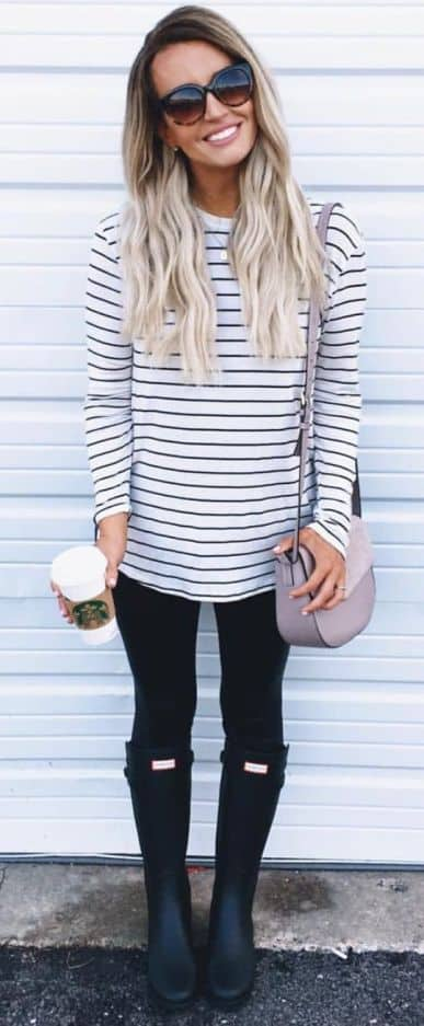 Chic Ways To Wear Black Leggings That You Must Copy