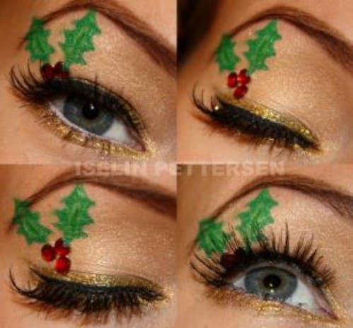 Inspiring Christmas Make Up Ideas That You Must Try Now