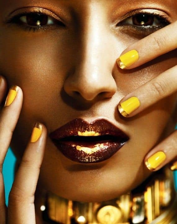 Perfectly Matching Nails And Lips Trends You Must Try For The New Years Eve
