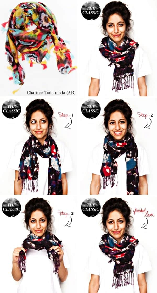 Inspiring Ways To Tie A Scarf That You Will Immediately Fall In Love With
