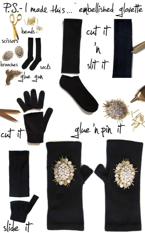 DIY Fancy Winter Accessories In Less Than 10 Minutes
