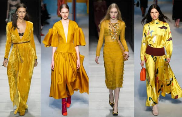 The Biggest Color Trends For Fall/Winter 2018 Season