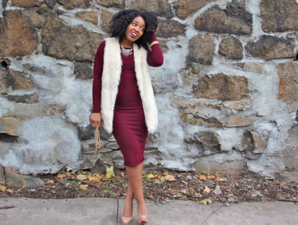 Trendy Ways To Style A Dress During Cold Winter Days