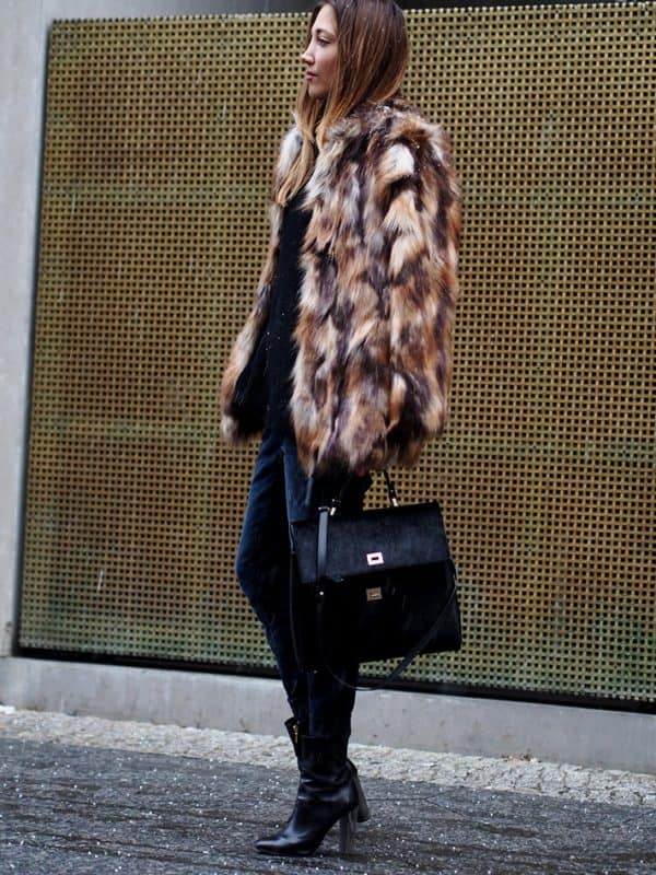 Best Way To Wear Fur Coat And Look Extravagant This Winter