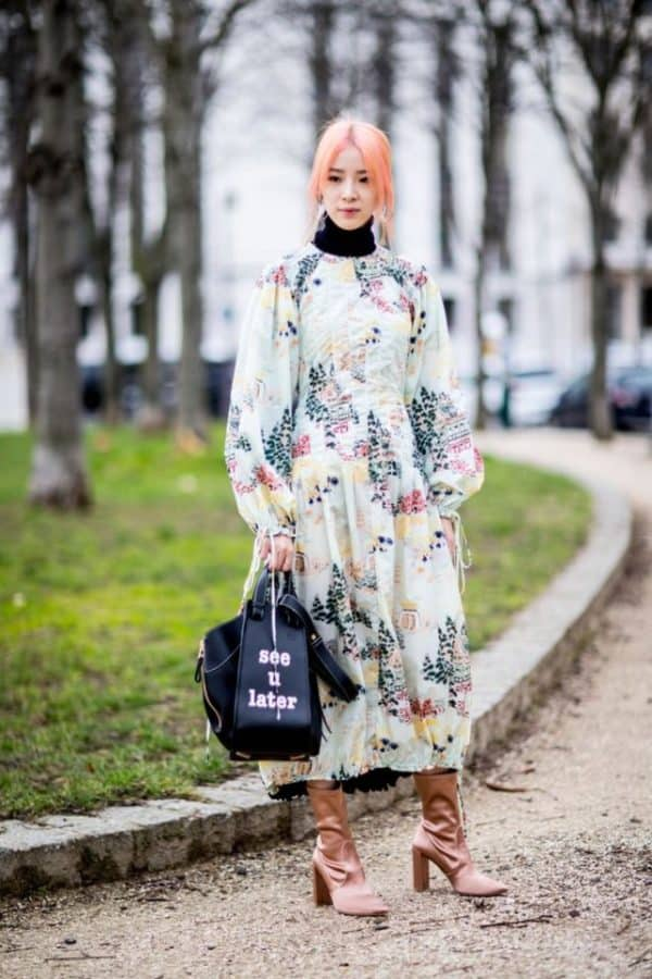 Creative Ways To Style Your Summer Maxi Dress During Winter