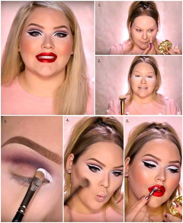 Christmas Makeup Tutorials To Try For The Holidays Coming Up
